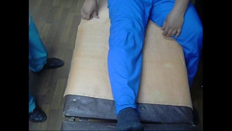 19 Измерение длины голени (Жанаспаев М.А)