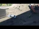 Погоня свидомых полицаев за украинской автоледи ...