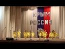 танец Цыплята. коллектив Яблочко. Концерт в с. Новоандреевка 18.03.18г.