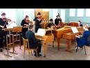 MVI_1663 - И.С. Бах. Концерт для 3-х клавесинов № 2 До мажор, BWV 1064 (продолжение, см. начало на видео MVI_1662).