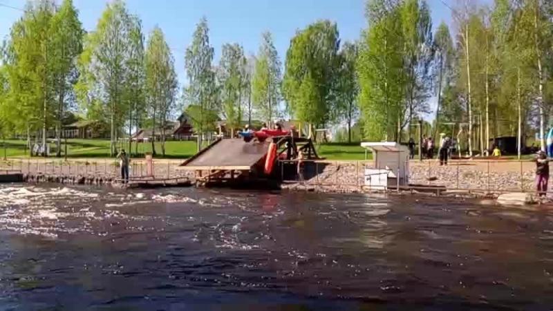 Полуфинал Третий заезд ЧМ России Гребной слалом