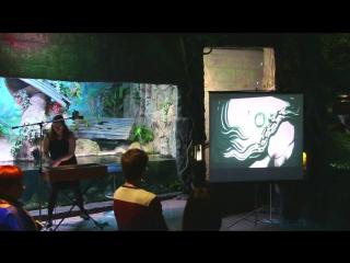 Песочная анимация и мастер-класс на ДнеРождения Воронежского Океанариума(Часть 2)