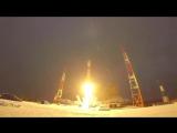 Пуск ракеты-носителя среднего класса «Союз-2.1б» с космодрома «Плесецк»