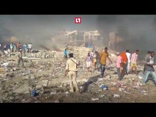 Более 40 человек погибли из-за взрыва в Сомали