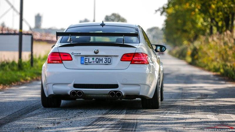 G-Power BMW M3 E92 V8 Compressor - Revs Accelerations !