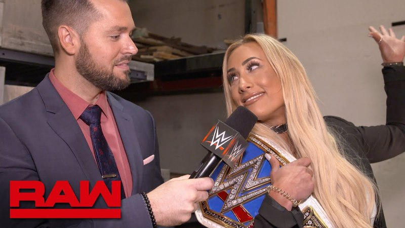 Can Carmella bring the SmackDown Women's Title to Raw?: Exclusive, April 16, 2018