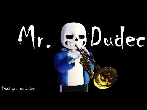 [MMD Undertale] Mr.Dudec