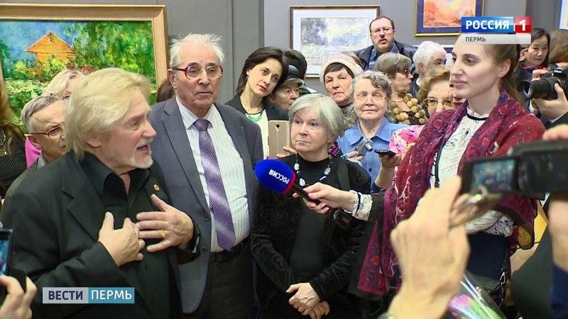 Владимира Васильева удивила и обрадовала очередь в галерею