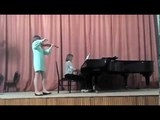 Ш.Данкля Концертное соло op.77, №2 А. Лядов Прелюдия А. Глазунов