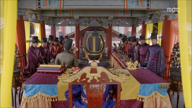 Императрица Ки - Кэгён - столица Корё. Король Ван Ю распекает подчиненных. Политическая система Корё(club_role_play_empress_ki)