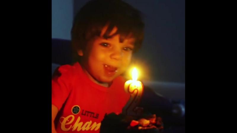А вот и деньрожденческое видео 🎞️ Отмечали наше д Купить свечи в Казани 05 10 2017