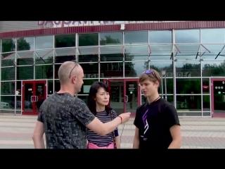 Deniss Vasiljevs and his Japanese fan club