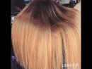 Карамельный блонд с эффектом striper blush от Оля ля