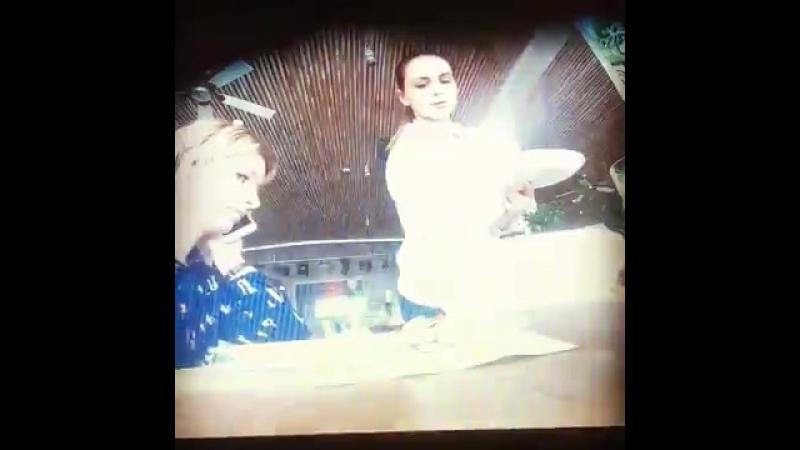 Александр Югра и Анна Лабушева в программе Ревизорро