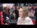 Интервью для «The Upcoming» на премьере фильма «Прощай, Кристофер Робин» в Лондоне | 20.09.2017 (Русские субтитры)