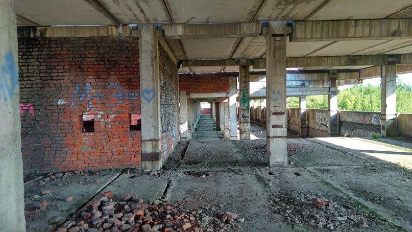 Заброшенный Завод в Печатниках