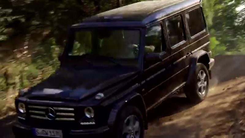 Mercedes-Benz G500 Citrine Brown Offroad Video - G-Class.mp4