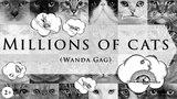 Миллионы кошек | Ванда Гаг | На английском языке с субтитрами | Классическая американская сказка