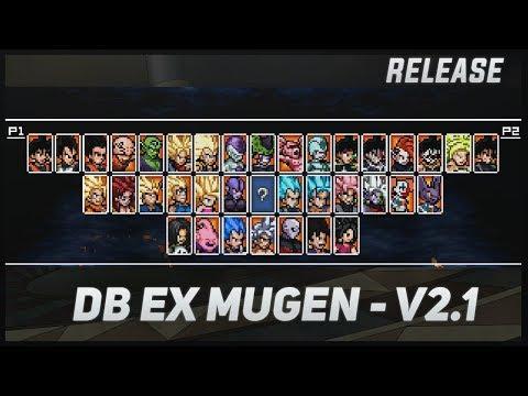 [PROJECT EX] DRAGON BALL EX MUGEN V2.1 - RELEASE