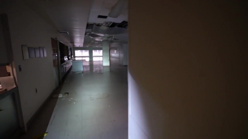Voices In The Basement Scare ABANDONED HOSPITAL