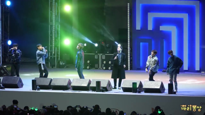 [4K FANCAM] [17.02.18] Live Site Kpop concert: B.A.P — Carnival