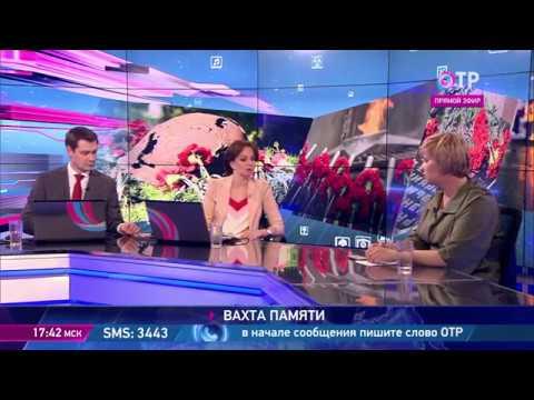 Елена Цунаева в эфире программы Отражение Общественного телевидения России