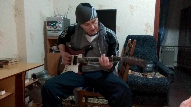 AC/DC - Big Gun.Rhythm guitar cover.