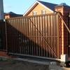 Откатные ворота цена в Нижнем Новгороде