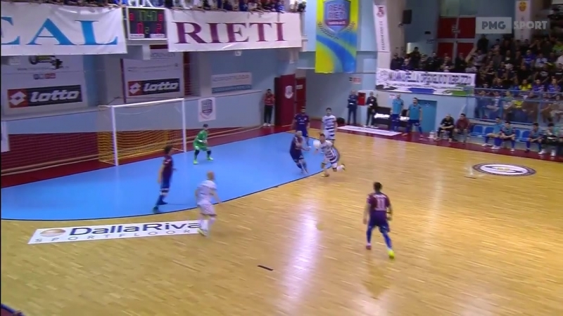 Italy League - Semi Finals 2nd Leg Match - Real Rieti 1x4 AcquaSapone Unigross