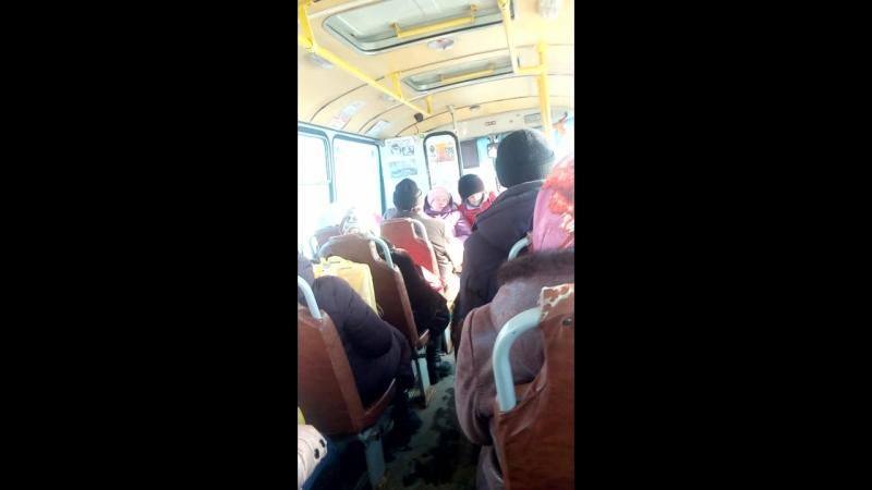 Поездка в чебоксарском пазике