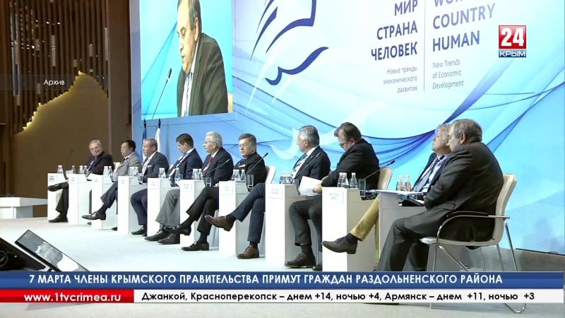 Президент Торгово-промышленной палаты РФ С. Катырин «С точки зрения товарооборота санкции в России мало что изменили» Несмотря