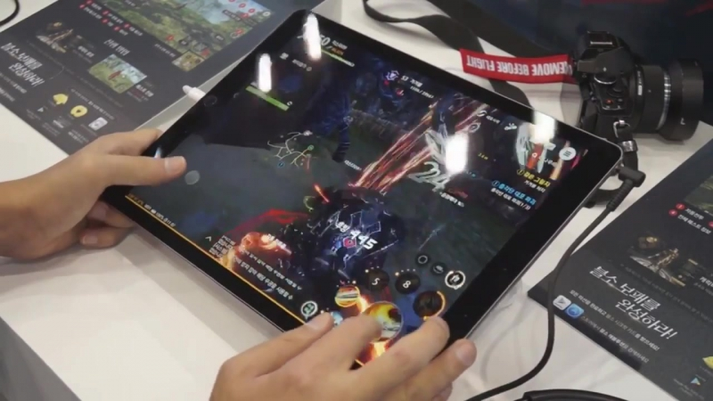 Blade And Soul Revolution - G-Star 2017 iPad Gameplay Test Preview (Netmarble Mobile Games)