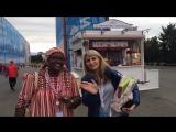 XIX Всемирный фестиваль молодёжи и студентов - Ямалу, привет от ЮАР