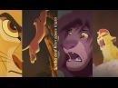 Simba and Kion saves Kiara from fire (FANMADE)