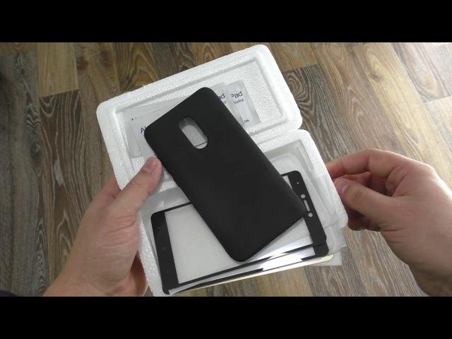Хорошие стекла ZNP и чехол для Xaiomi Redmi Note 4 4x Pro Prime / ДОСТАВКА 5 МЕСЯЦЕВ!
