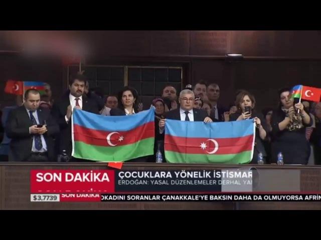 Recep Tayyip Erdoğan Azerbaycan'daki Hocalı Katliamını Andı (Batıya Şert Eleştirilerde Bulundu)