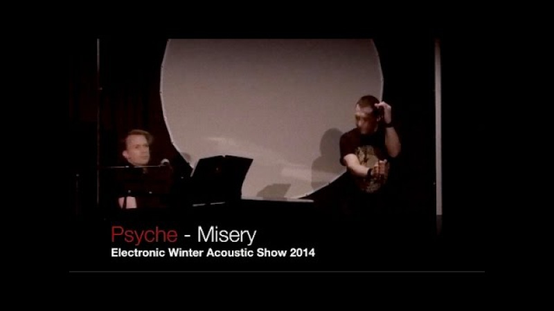 Psyche - Misery (Live @ Electronic Winter 2014) with Thomas Jansson on piano