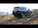 Сюрприз от Ауди AUDI Q7 против Toyota Prado и VW TOUAREG на бездорожье Оффроад покатушка