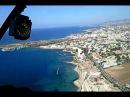 Полёт на вертолёте над Кипром