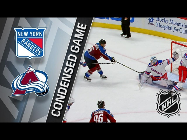 01/20/18 Condensed Game: Rangers at Avalanche