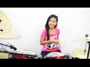 Bon Jovi It's My Life Drum Cover by Nur Amira Syahira