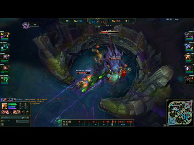 Azir Nunu not broken at all baron at 20 min