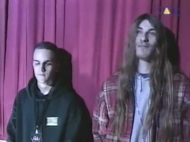 FULL OF HATE FESTIVALS 1995 [HATE SQUAD - GRAVE - UNLEASHED - GOREFEST - DEATH] - VIVA TV 27/04/1995