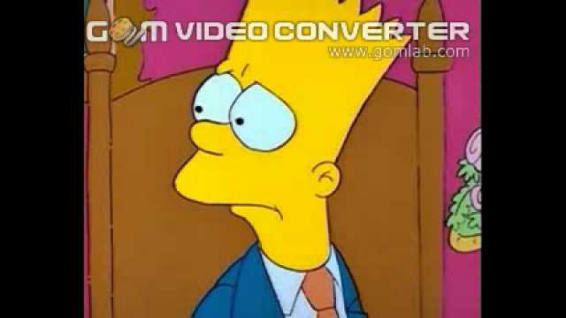 Барт и духи (Сімпсони 1 сезон 9 серія (Укр))