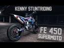 Kenny Stuntriding Supermoto Nightride 4K