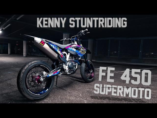 Kenny Stuntriding - Supermoto Nightride (4K)