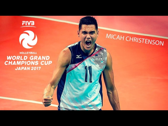 Micah Christenson Best Volleyball Setter Champions Cup 2017