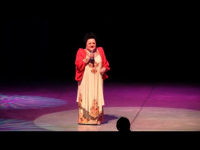 Оренбургский платок. Я люблю вас так безумно. Поёт Светлана Дятел.