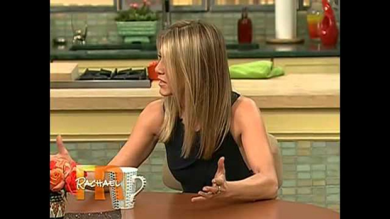 Jennifer Aniston's First Visit On Rachael Ray (Part 2)