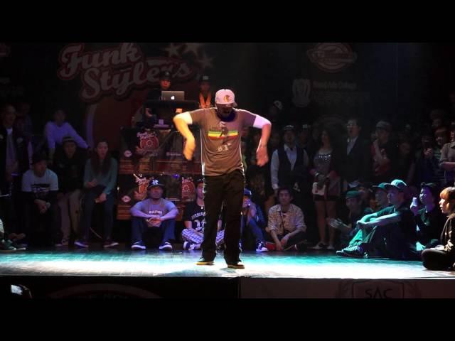 Funk stylers vol.5 judge show Mr.wiggles